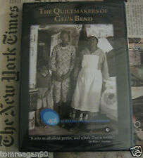 The Quiltmakers of Gee's Bend DVD NEW PBS Folk Fine Art Alabama Quilt OOP HTF FS