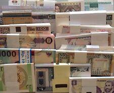 Lot#17B - 15 Pcs Different Countries World Paper Money Set/Lot - UNC From Bundle
