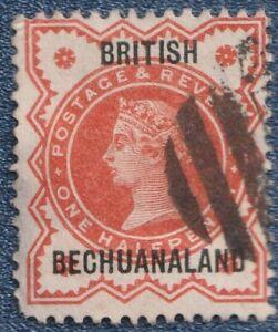 BRITISH  BECHUANALAND   1887   1/2d   Good Used  (C02).