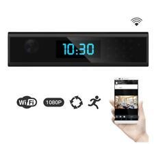 1080 HD WIFI Hidden Spy Camera Clock Night Vision Nanny Motion Detection Camcord