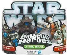 STAR WARS Galactic Heroes Cad Bane + Aurra Sing action figure