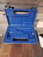 VINTAGE ORIGINAL COLT FIREARMS FACTORY BLUE PISTOL GUN CASE .380 AUTO MARKED 1B