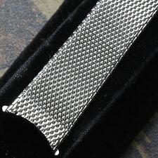 LAST ONE! American-made vintage watch band 17.3mm steel mesh 1960s/70s Kreisler