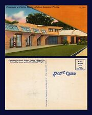 US FLORIDA LAKELAND SOUTHERN COLLEGE FRANK LLOYD WRIGHT DESIGN CIRCA 1941