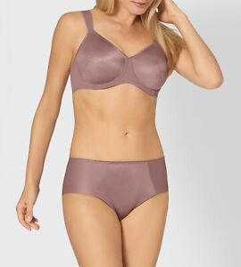 Triumph Essential Minimizer W X Bra or Hipster Brief Rose Brown