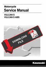 Kawasaki 2019 Vulcan 650 S Service Manual