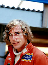 1974 JAMES HUNT MCLAREN PHOTO MOTORSPORT CHOOSE PRINT SIZE FORMULA ONE 1