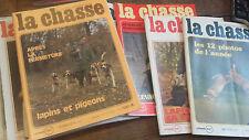 La revue nationale de la chasse 1974  année complète 12 revues