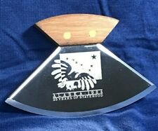 Vintage ULU Knife ALASKA 1984 - 25 Years of Statehood, Walnut & Stainless Steel