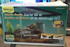 Aqua Culture 10-Gallon Turtle & Aquatic Reptile Habitat Starter Kit Usa Seller