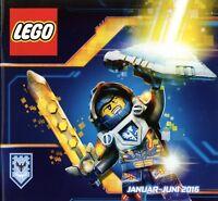 Lego Katalog 2016 Jan-Juni Spielzeug Prospekt brochure toys catalogue jouets