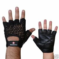 Maximuscle Net Training Gloves Weight Lifting Gloves Mesh Back Gym Exercise