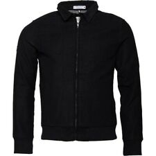 NEW Size XL Superdry men's Ultimate moleskin Harrington jacket Black £90 Warm
