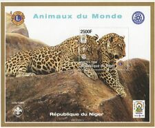 Nigerian Wild Animal Postal Stamps