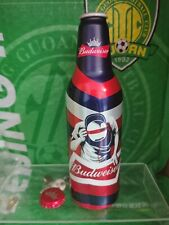 China Budweiser beer limited edition Electric syllabl Aluminum bottle empty