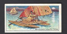 COPE - BOATS OF THE WORLD - #34 SOCIETY ISLAND'S CANOE