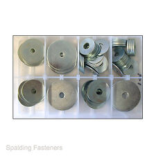 Assorted M6, M8 & M10 Metric Zinc Extra Large Penny Repair Washers