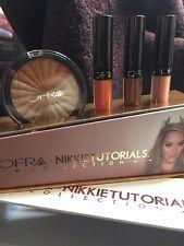 Ofra Cosmetics~Nikkie Tutorials~Highlighter & Liquid Lipstick Trio Kit -Full Sz!