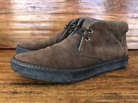 Mens Hugo Boss Chukka Boots Size UK 8.5 US 9.5 Made In Italy
