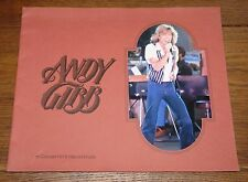 ANDY GIBB IN CONCERT 1978 OFFICIAL USA TOUR PROGRAMME SECOND FOLIO