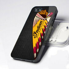 New Indian Motorcycle Pattern logo iPhone 11 Pro X 7 8 6 Samsung S6 S8 S9 Case