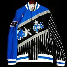 100% Authentic Mitchell & Ness Magic Warm Up Jacket Size L 44 - penny hardaway