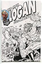Old Man Logan 25 Marvel NM Incredible Hulk 181 Homage Wolverine Sketch Variant