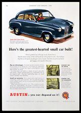 AUSTIN A30 2-DOOR SALOON CAR 1955 Austin Motors Company  MAGAZINE ADVERT