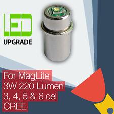 MagLite LED upgrade/conversie lamp Fakkels/zaklamp 3D/3C 4D/4C 5/6D Cel CREE CNC