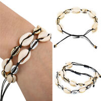 Fashion Boho Women Summer Beach Jewelry Cowrie Natural Sea Shell Bracelet Gifts