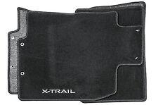 Nouveau véritable nissan x-trail T32 front tapis arrière 4 piece textile velours ke7554b021