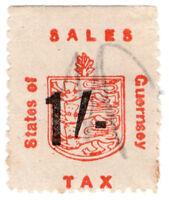 (I.B) Guernsey Revenue : Sales Tax 1/- (German Occupation)