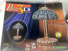 Wrebbit 3D Puzzle with Illumination 7502 Tiffany Lamp 295 Pc Puzzle