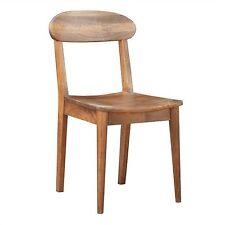 Metro Dining Chair - solid mango wood - light oak colour