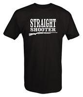 Straight Shooter Shotgun Hunting Country Boy T shirt