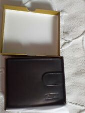 Gents real leather wallet