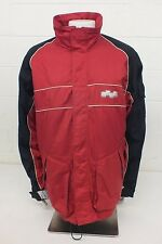 Foursquare Outerwear High-Quality Fleece Lined Red & Black Jacket Men's XL GREAT