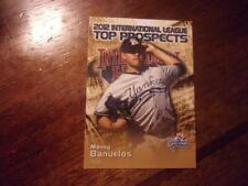 2012 INTERNATIONAL LEAGUE PROSPECTS Single Cards YOU PICK FROM LIST $1-$2 each