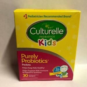 KIDS CULTURELLE PROBIOTICS PURELY PROBIOTICS 30 PACK EXP: 01/22 or later