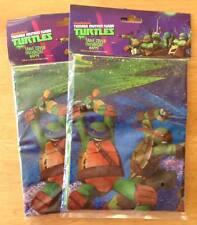 2 x Teenage Mutant Ninja Turtles TMNT ~ Plastic Party Tablecloth/Tablecover ~ BN
