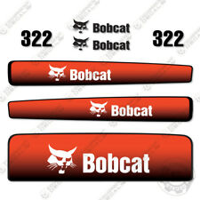 Bobcat 322 Mini Excavator Decal Replacement Kit