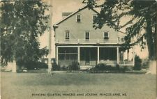 A View Of The Principal Quarters, Princess Anne Academy, Princess Anne, Maryland
