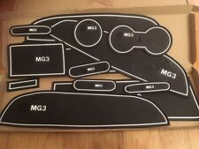 MG3 INTERIOR DASHBOARD MAT GATE PAD TRIM SET - WHITE ONLY - 14 PIECE SET