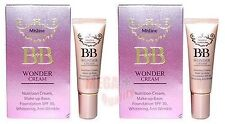 2 x 7.5 g. Bb Mistine Wonder Cream Makeup base Foundation Spf 30 , Anti Wrinkle