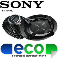 "Sony XS-FB6930 6x9 inch 6""x9"" 900 Watts a Pair Car & Van 3 Way Coaxial Speakers"