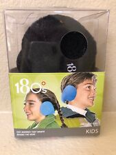 180s Ear Warmers Kids Size Black - New
