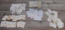 Lot de 74 supports de deux pièces Rappels de Médailles Décorations Barettes