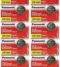CR1620 Lithium Batteries For Keyless Entry and Remote Control By Panasonic X 8