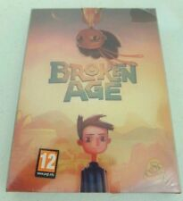 Broken Age Act 1 & 2 PC GAME DVD-ROM Code Win/Mac RARE Sealed New
