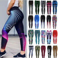 Ladies Girl Women Yoga Pants Fitness Leggings Run Gym Exercise Sports Trousers